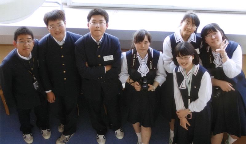 金蘭千里高等学校制服画像